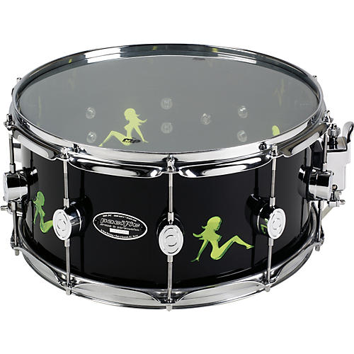 PDP Acrylic Snare With Chrome Hardware