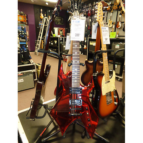 B.C. Rich Acrylic Warlock Solid Body Electric Guitar