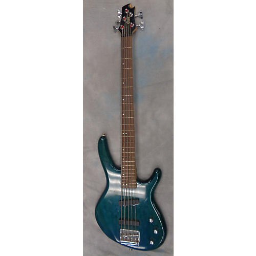 Cort Action Bass V Electric Bass Guitar teal