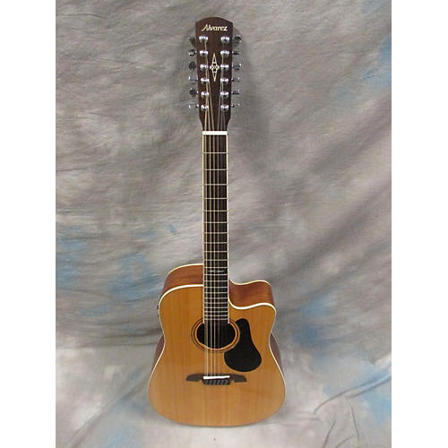 Alvarez Ad60 12-ce 12 String Acoustic Electric Guitar