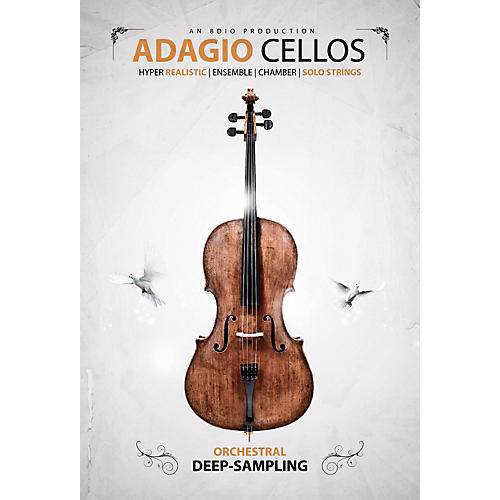 8DIO Productions Adagio Cellos-thumbnail