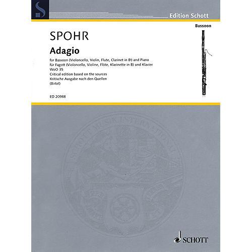 Schott Adagio, WoO 35 Schott Series by Louis Spohr Edited by Wolfgang Birtel