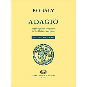 Editio Musica Budapest Adagio for Double Bass and Piano - New Edition by Zo... by Editio Musica Budapest