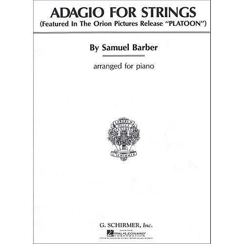 G. Schirmer Adagio for Strings