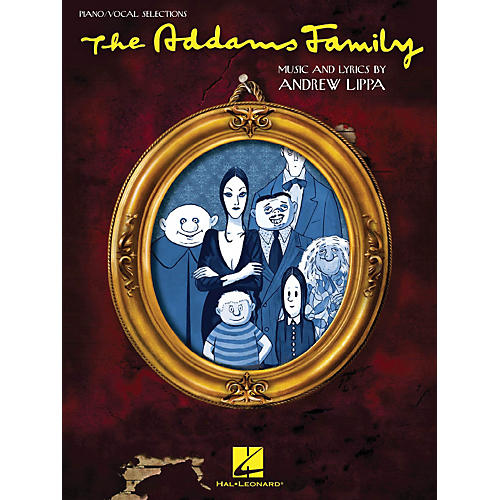 Hal Leonard Addams Family - Piano/Vocal Selections Songbook-thumbnail