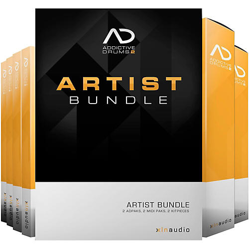 XLN Audio Addictive Drums 2  Artist Bundle-thumbnail