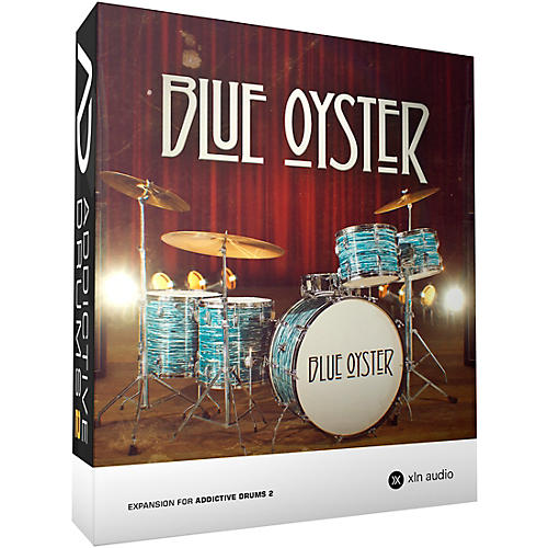XLN Audio Addictive Drums 2  Blue Oyster-thumbnail