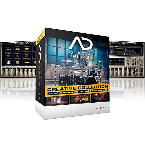 XLN Audio Addictive Drums 2: Creative Collection Software Download