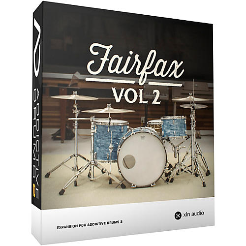 XLN Audio Addictive Drums 2: Fairfax Vol. 2 Software Download-thumbnail