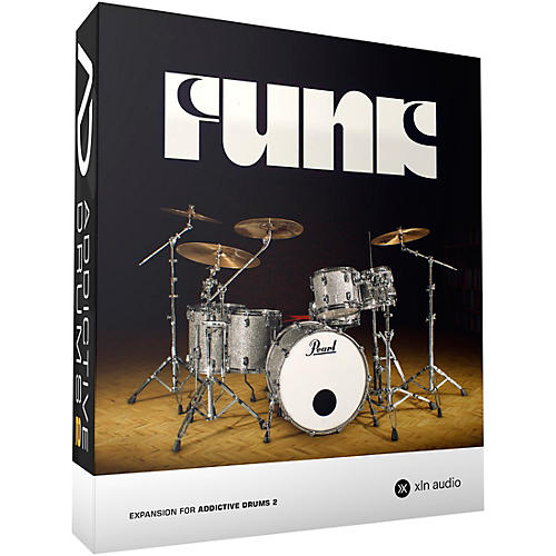 XLN Audio Addictive Drums 2  Funk Software Download