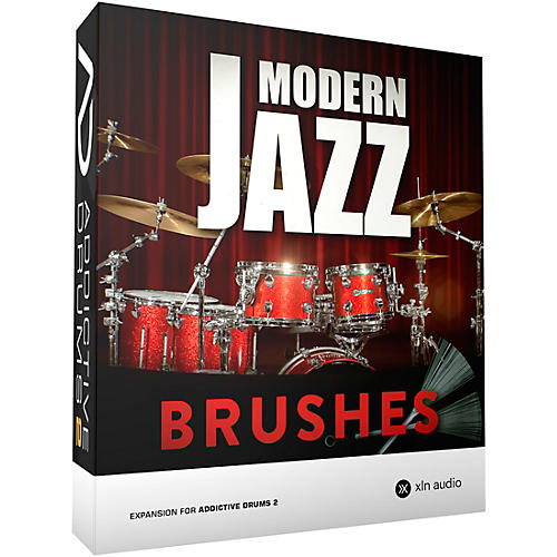 XLN Audio Addictive Drums 2  Modern Jazz Brushes-thumbnail