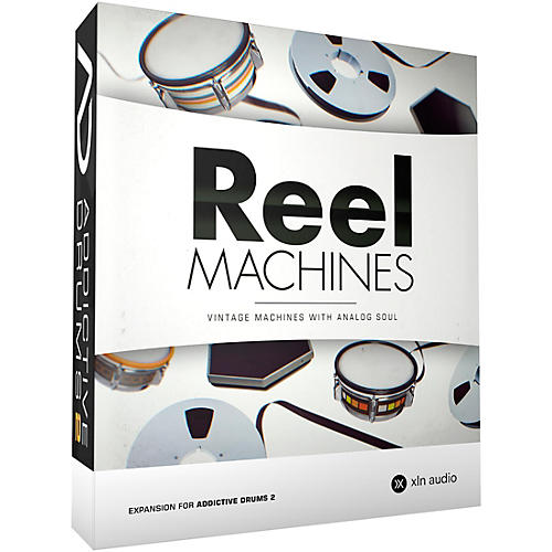 XLN Audio Addictive Drums 2  Reel Machines Software Download
