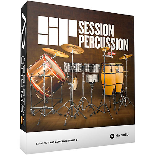 XLN Audio Addictive Drums 2  Session Percussion-thumbnail