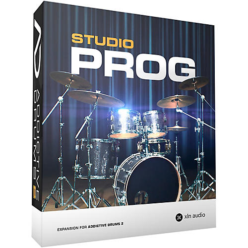 XLN Audio Addictive Drums 2  Studio Prog-thumbnail