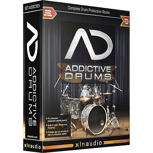 xln audio addictive drums guitar center. Black Bedroom Furniture Sets. Home Design Ideas