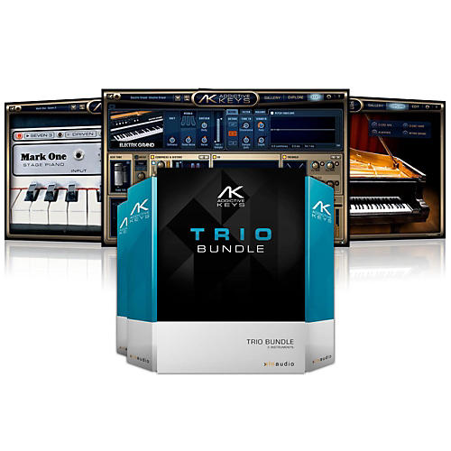 XLN Audio Addictive Keys: Trio Bundle Software Download-thumbnail
