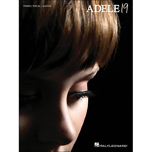Hal Leonard Adele - 19 arranged for piano, vocal, and guitar (P/V/G)-thumbnail
