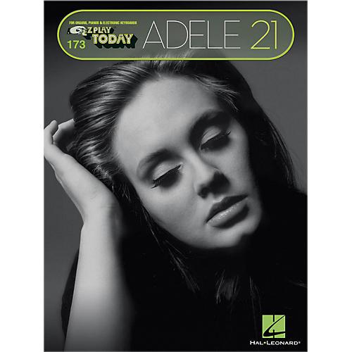 Hal Leonard Adele - 21 E-Z Play Today #173 Songbook-thumbnail