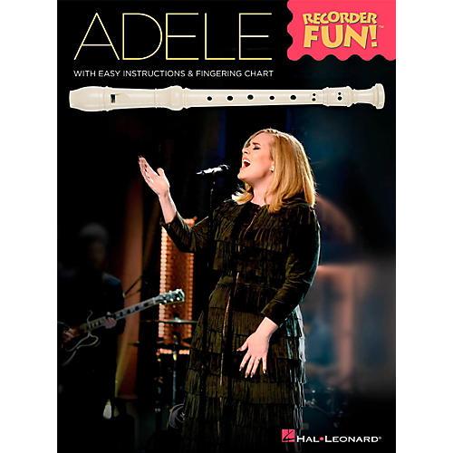 Hal Leonard Adele - Recorder Fun! Songbook-thumbnail