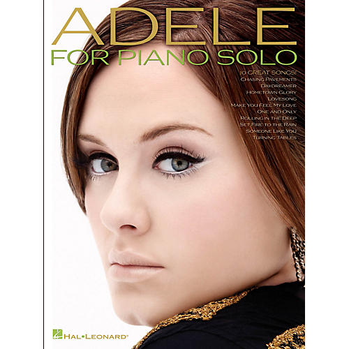 Hal Leonard Adele For Piano Solo-thumbnail