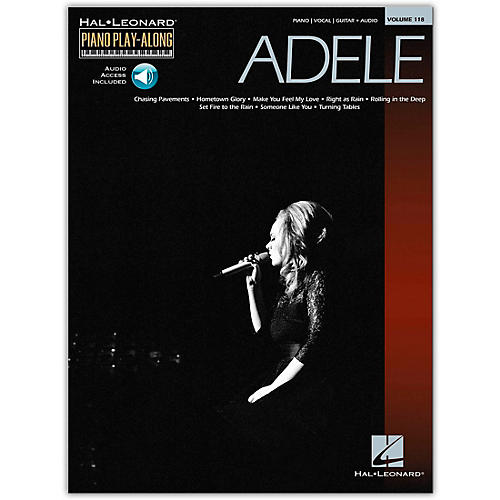Hal Leonard Adele Piano Play-Along Volume 118 (Book/Online Audio)