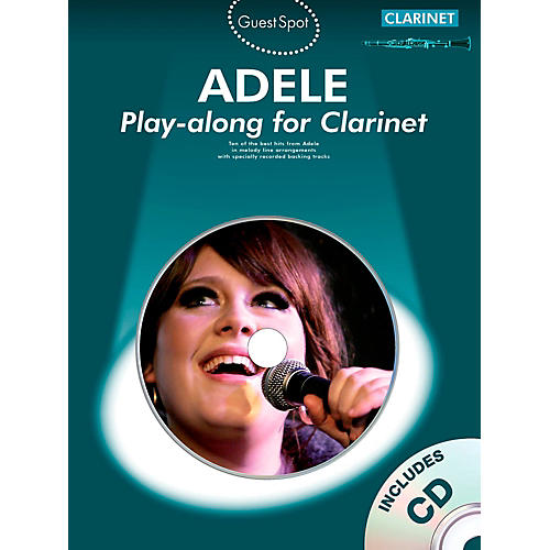 Music Sales Adele Play-Along For Clarinet Book/CD-thumbnail