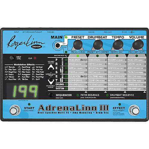 Roger Linn Design AdrenaLinn III Guitar Effects Processor-thumbnail