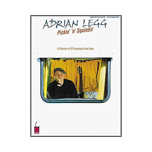 Cherry Lane Adrian Legg - Pickin' n Squintin' Book-thumbnail