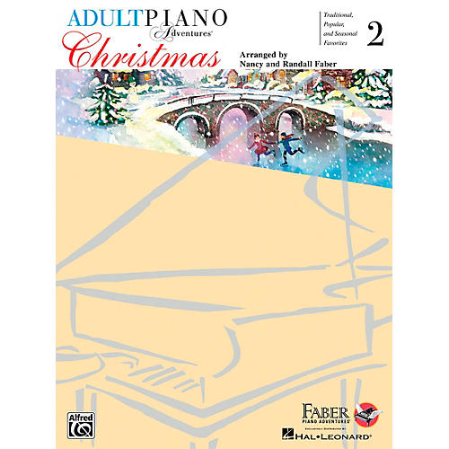 Faber Piano Adventures Adult Piano Adventures - Christmas Book 2-thumbnail