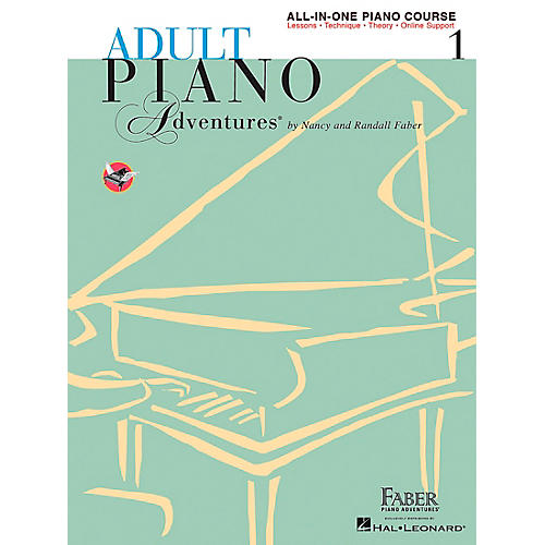 Faber Piano Adventures Adult Piano Adventures All-In-One Lesson Book 1 - A Comprehensive Piano Course - Faber Piano