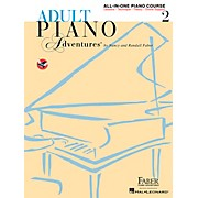 Faber Piano Adventures Adult Piano Adventures All-In-One Lesson Book 2 - Faber Piano