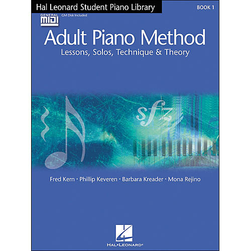 Hal Leonard Adult Piano Method Book 1 Book/GM disk pack Hal Leonard Student Piano Library-thumbnail
