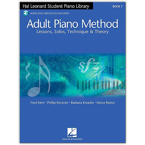 Hal Leonard Adult Piano Method Book 1 with Online Audio-thumbnail