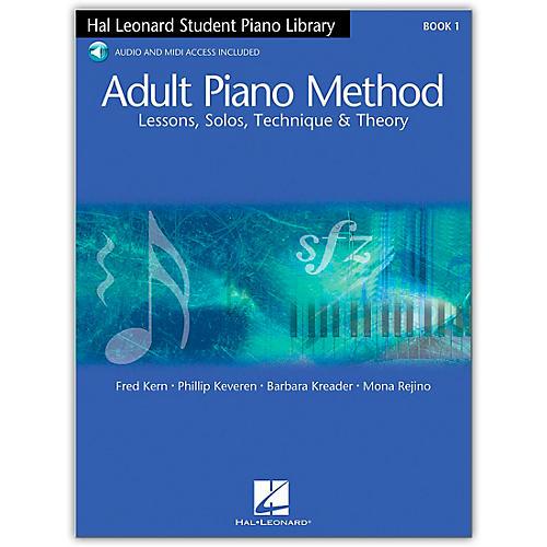 Hal Leonard Adult Piano Method Book 1 with Online Audio