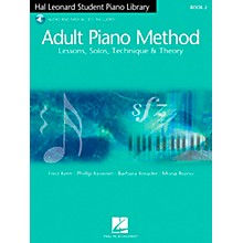 Hal Leonard Adult Piano Method Book 2 Book/2CDs Hal Leonard Student Piano Library