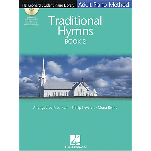 Hal Leonard Adult Piano Method Traditional Hymns Book 2 Book/CD Hal Leonard Student Piano Library-thumbnail