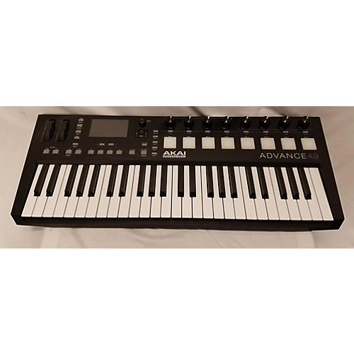 used akai professional advance 49 midi controller guitar center. Black Bedroom Furniture Sets. Home Design Ideas