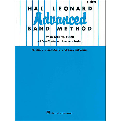 Hal Leonard Advanced Band Method - C Flute