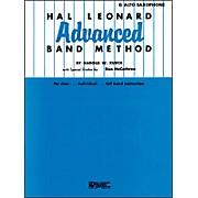 Hal Leonard Advanced Band Method -E Flat Alto Saxophone