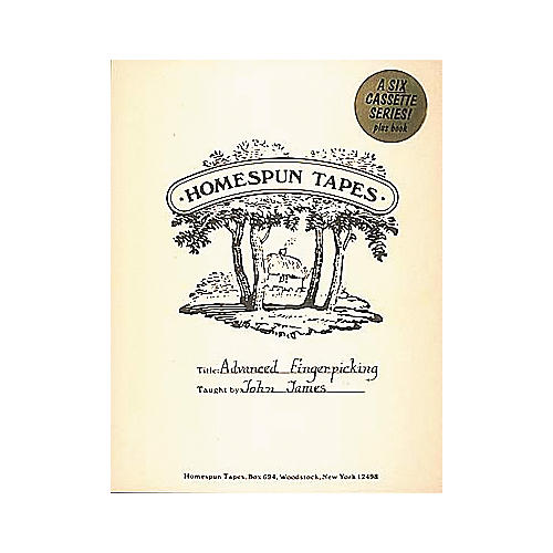 Homespun Advanced Fingerpicking Level 4 - Includes Tab (Book and 6 Cassettes)-thumbnail