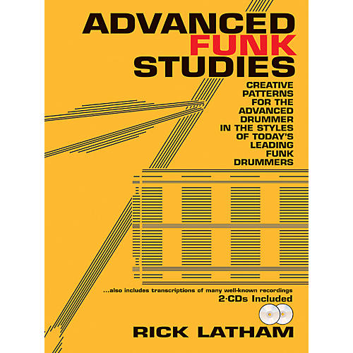 Carl Fischer Advanced Funk Studies (Book/2 CDs)