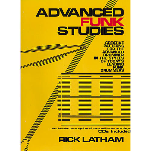 Carl Fischer Advanced Funk Studies for Drums (Book/CD)