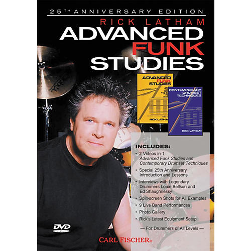 Carl Fischer Advanced Funk Studies for Drums (DVD)-thumbnail