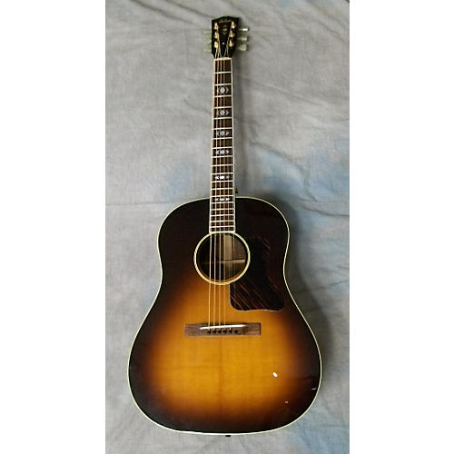Gibson Advanced Jumbo Artist Vintage Sunburst Acoustic Guitar-thumbnail