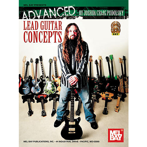 Mel Bay Advanced Lead Guitar Concepts Book/CD/DVD-thumbnail