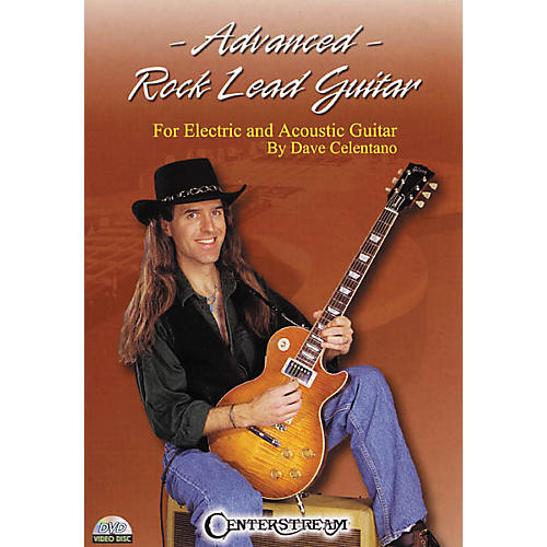 Centerstream Publishing Advanced Rock Lead Guitar (DVD)-thumbnail