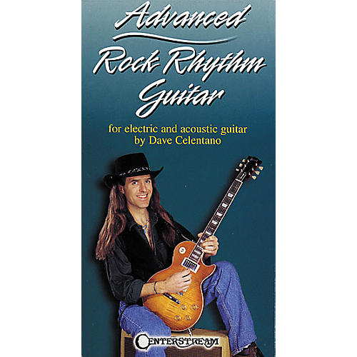 Centerstream Publishing Advanced Rock Rhythm Guitar VHS