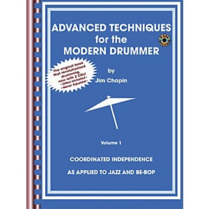 Alfred Advanced Techniques for the Modern Drummer Book and 2-CD Set by Alfred
