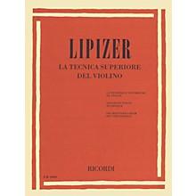 Ricordi Advanced Violin Technique (La Tecnica Superiore del Violino) MGB Series Softcover