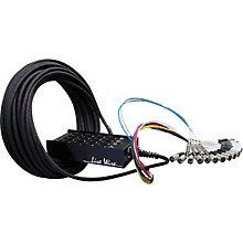 Livewire Advantage 16-Channel/4-Return Stage Snake 100 ft.